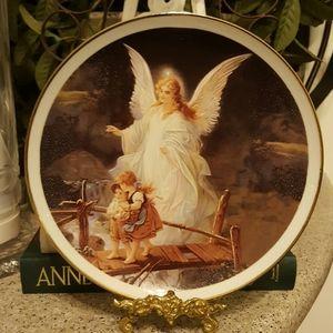 Vintage German Angel Plate